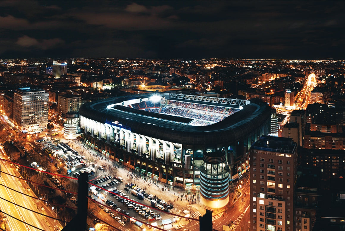 ESTADIO SANTIAGO BERNABÉU, REAL MADRID