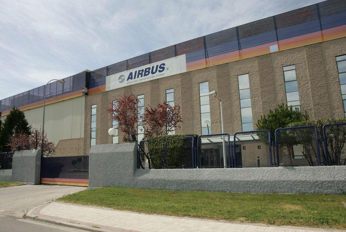 PLANTA AIRBUS EN ILLESCAS, TOLEDO