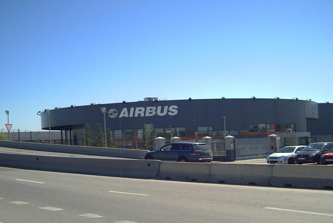PLANTA AIRBUS EN GETAFE, MADRID